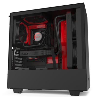 NZXT H510i Red/Black