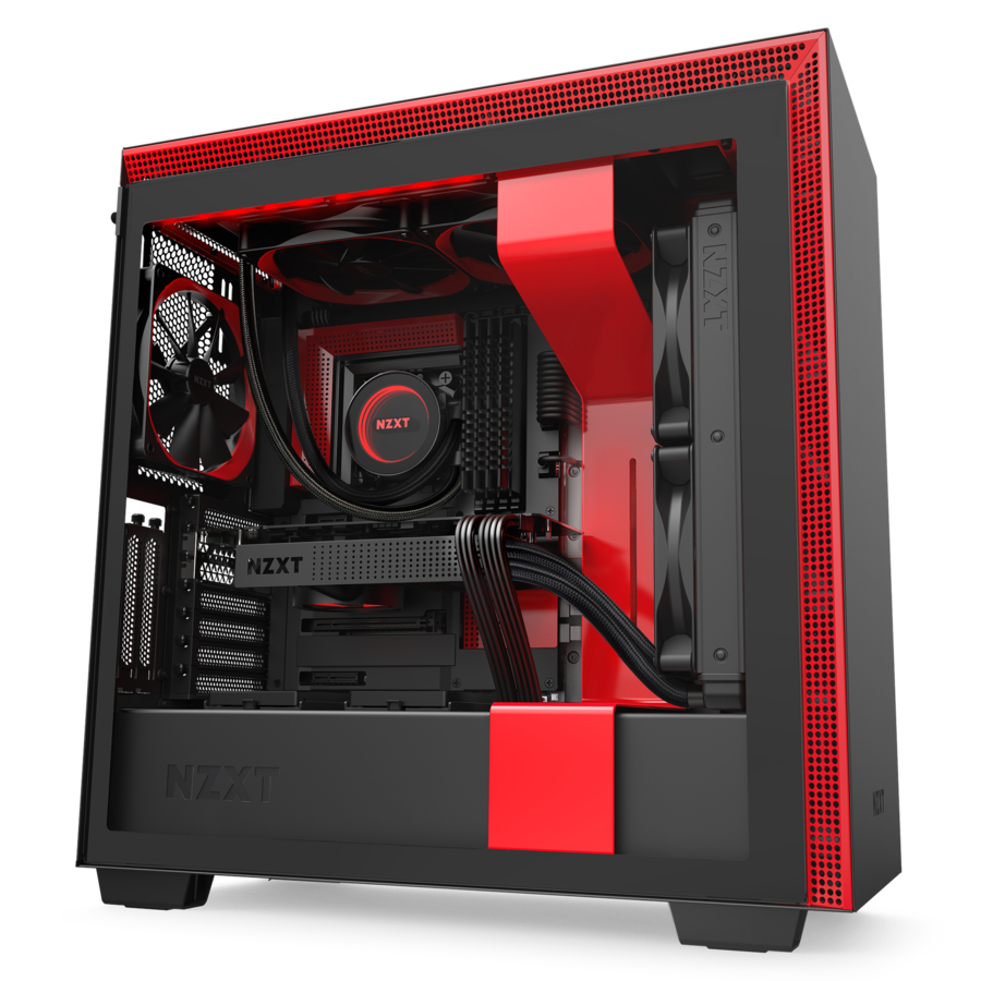 NZXT H710i Red/Black