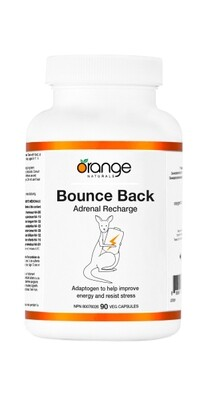 Bounce Back - Adrenal Recharge By Orange Naturals