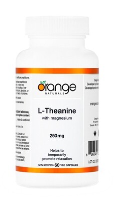 L-Theanine with Magnesium By Orange Naturals