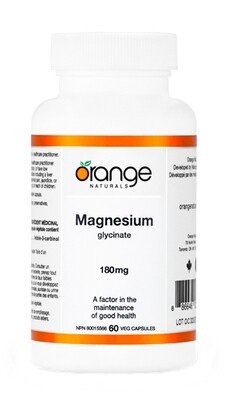 Magnesium Glycinate By Orange Naturals