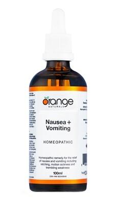 Homeopathic Nausea+Vomiting By Orange Naturals