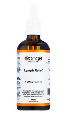 Homeopathic Lymph Relief By Orange Naturals