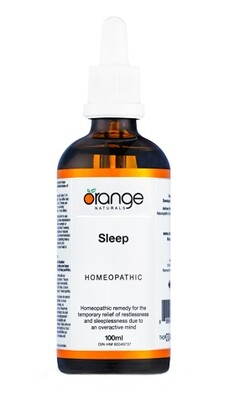 Homeopathic Sleep By Orange Naturals