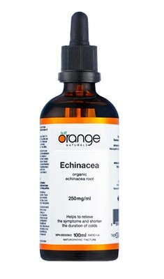 Echinacea Tincture By Orange Naturals