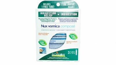 Nux Vomica Compose (3 Tubes) By Boiron