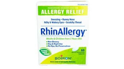 Rhinallergy Tab (60) By Boiron