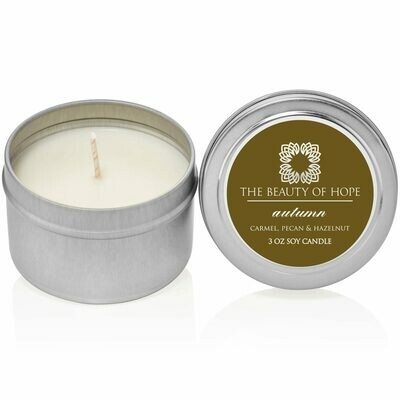 Autumn (3oz) Candle By The Beauty Of Hope