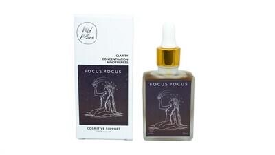 Focus Pocus ~ Cognitive Support Tincture By Wild Return