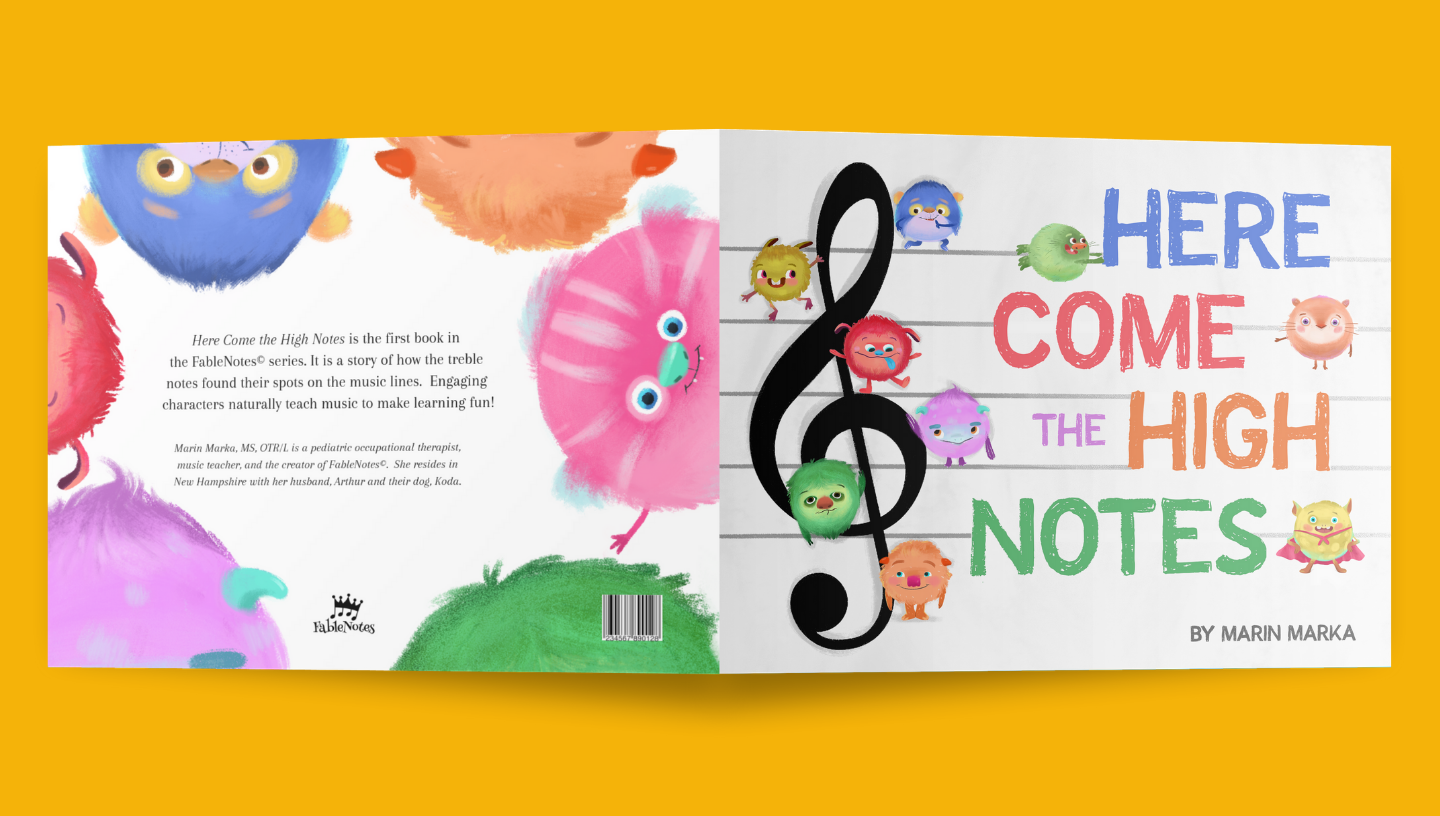 Here Come the High Notes | Hardcover