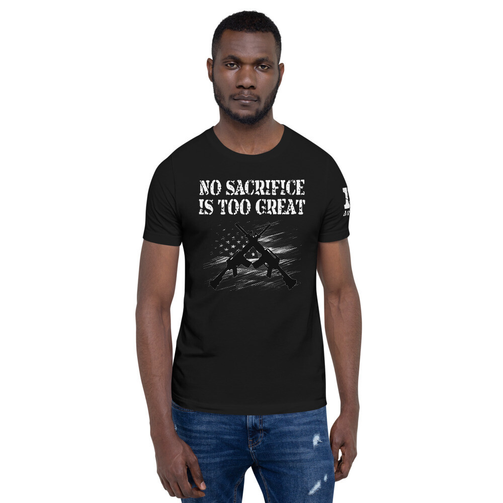 Warrior Class B&W Short-Sleeve Unisex T-Shirt
