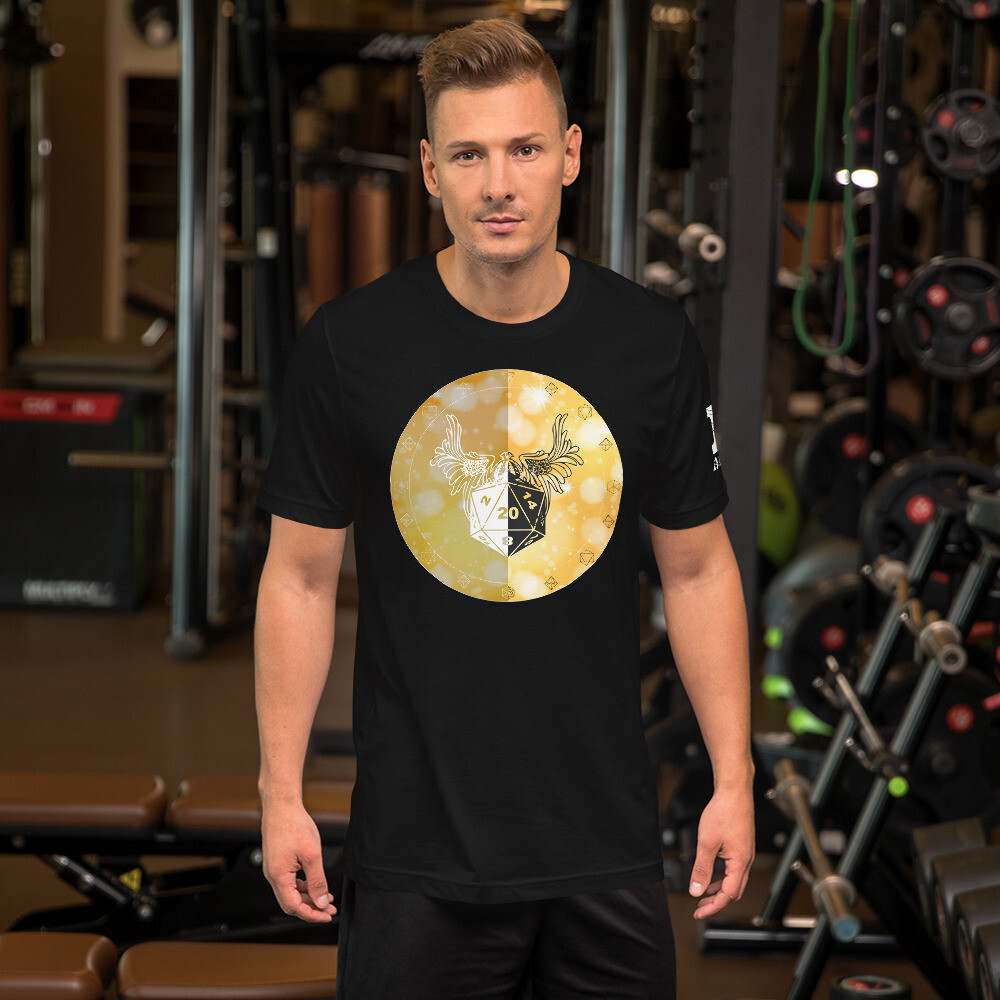 Paladin Shield Color Short-Sleeve Unisex T-Shirt