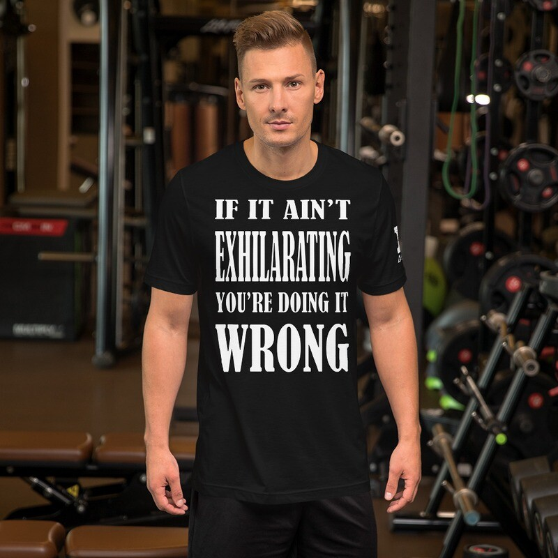Fitness Exhilarating Short-Sleeve Unisex T-Shirt