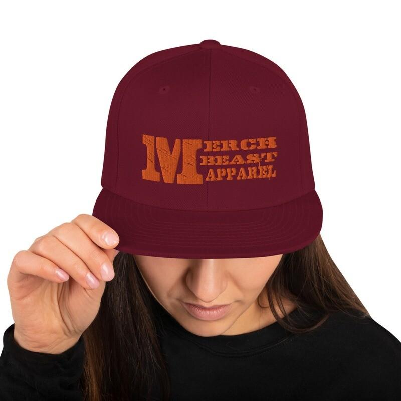 Merch Beast Apparel fan gear Snapback Hat