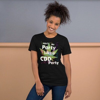 Ain't no Party Like a CBD Party Short-Sleeve Unisex T-Shirt