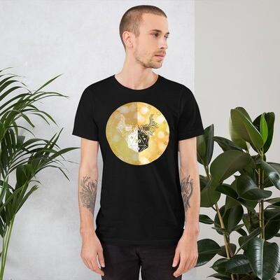 Paladin Gamer Dungeon Shield Short-Sleeve Unisex T-Shirt