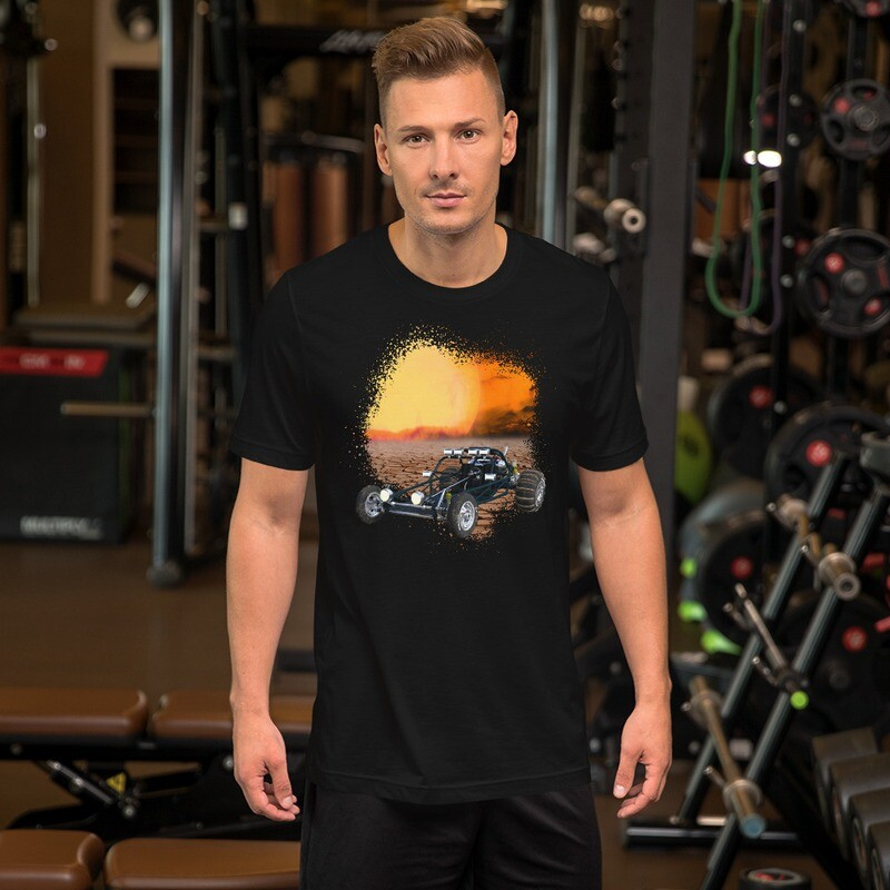 Sunset Dune Buggy Short-Sleeve Unisex T-Shirt