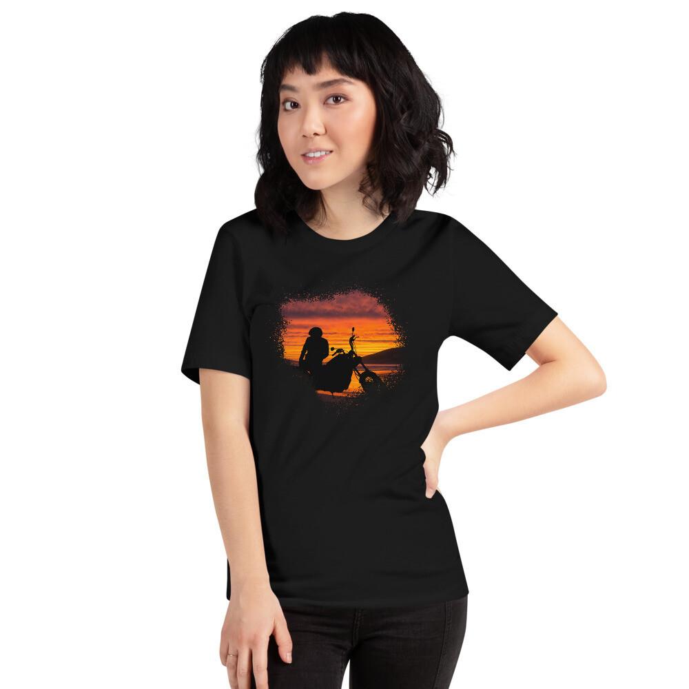 Riding Sunset Short-Sleeve Unisex T-Shirt