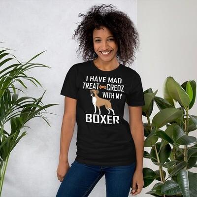 Boxer Dog Lover Short-Sleeve Unisex T-Shirt