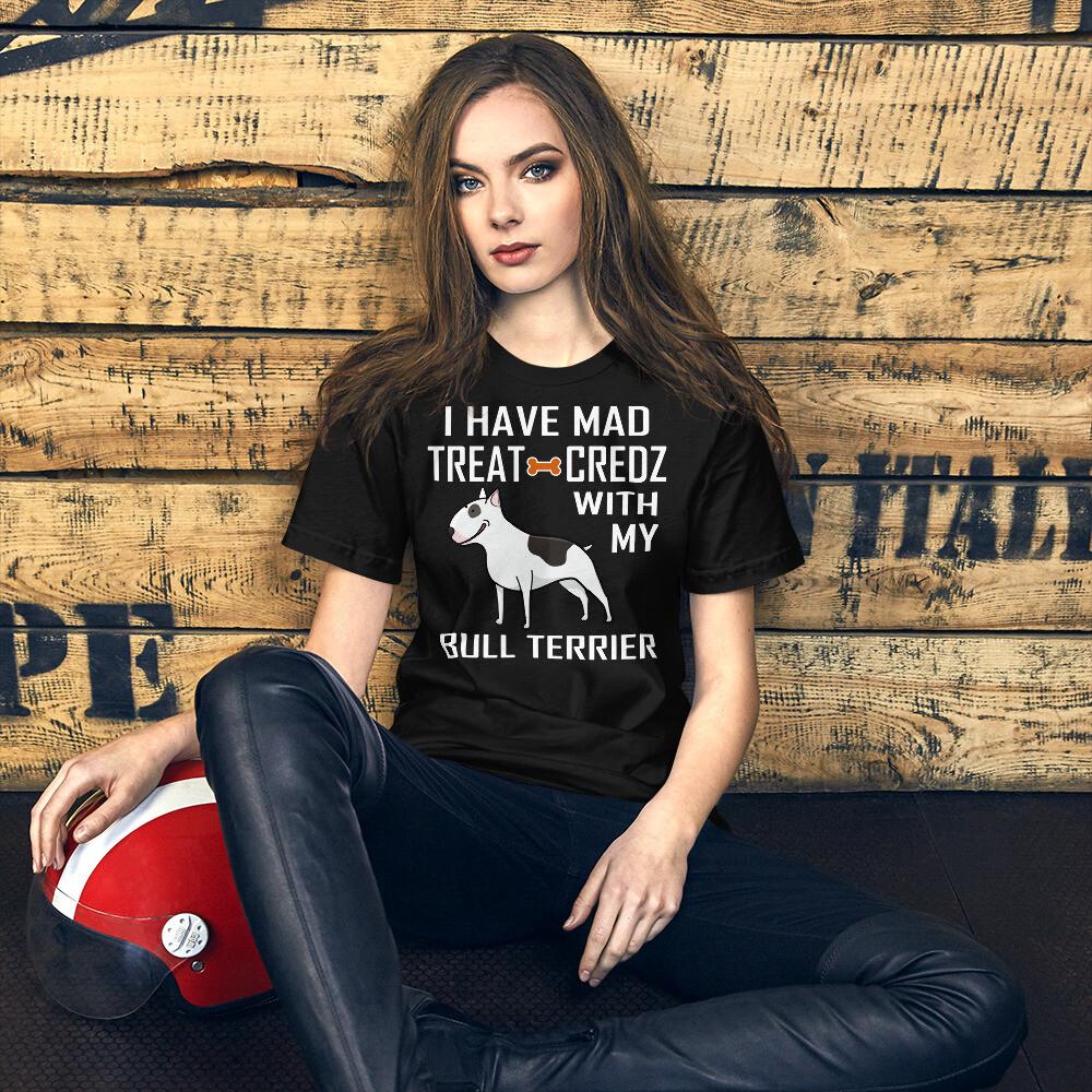 Bull Terrier Dog Lover Short-Sleeve Unisex T-Shirt