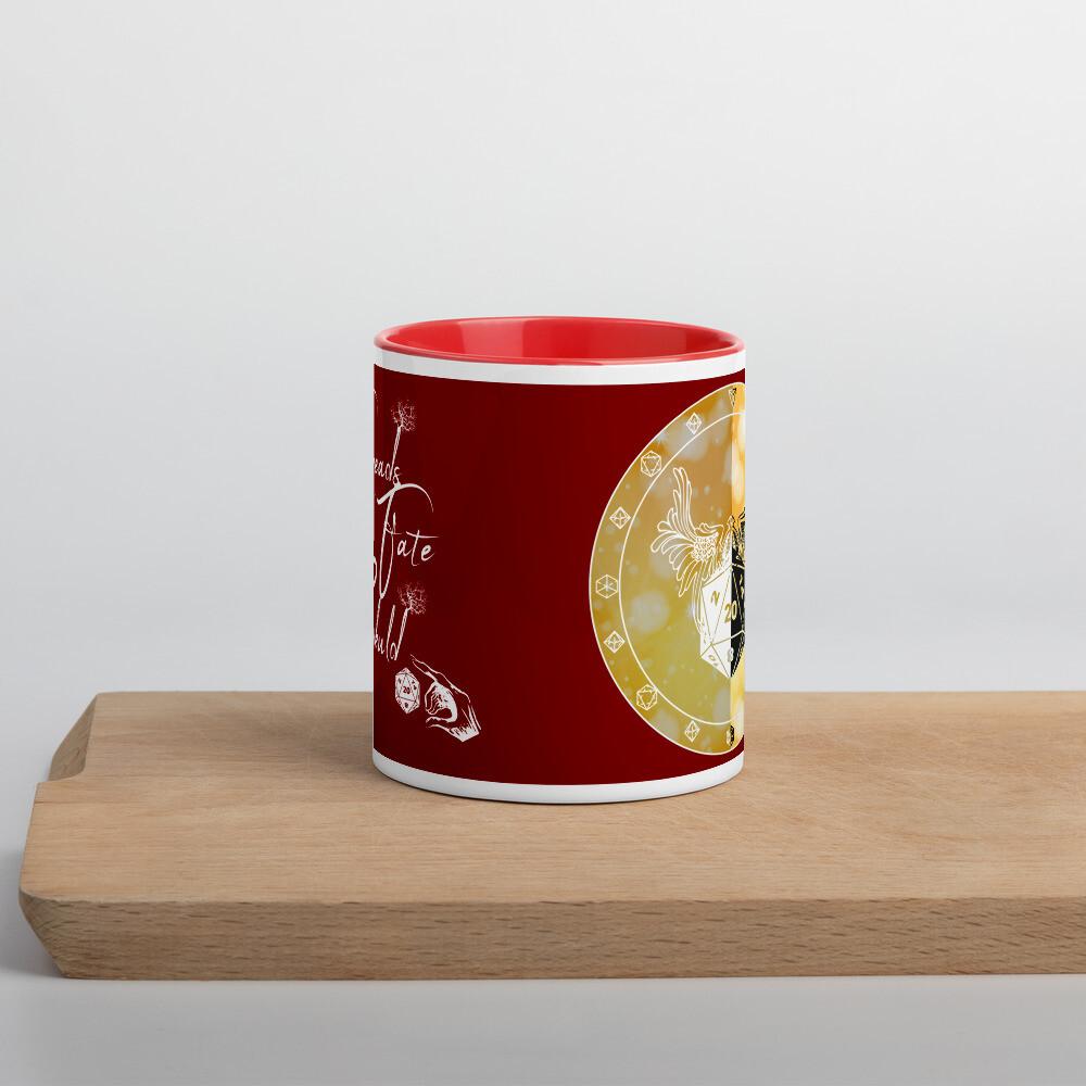 Paladin Shield Mug with Color Inside