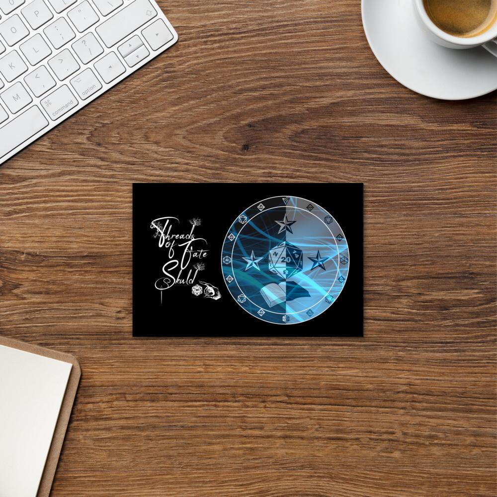 Character Shield Wizard Threads of Fate Skuld Standard Postcard