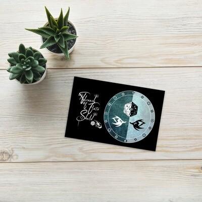 Character Shield Warlock Threads of Fate Skuld Standard Postcard