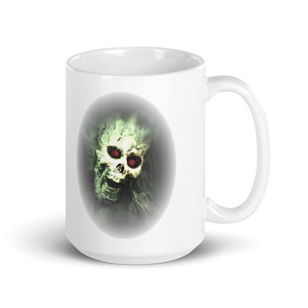 Where's My Coffee White glossy mug