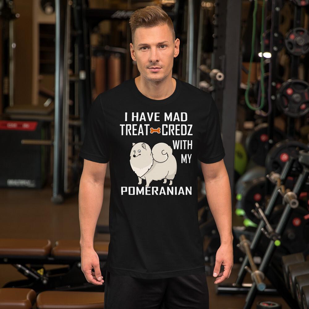Pomeranian Dog Lover Short-Sleeve Unisex T-Shirt