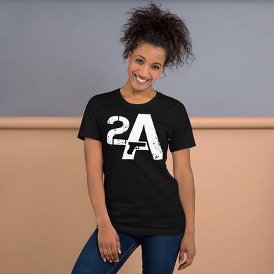 Pro Gun 2A Short-Sleeve Unisex T-Shirt