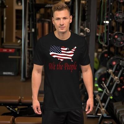 USA We the People Short-Sleeve Unisex T-Shirt