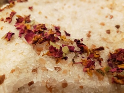 Rosemary, Rose and Lemongrass BathSalts
