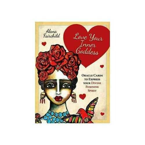 Love Your Inner Goddess oracle cards by Alana Fairchild