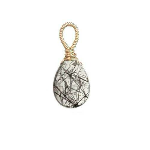Rutilated Quartz - Gold