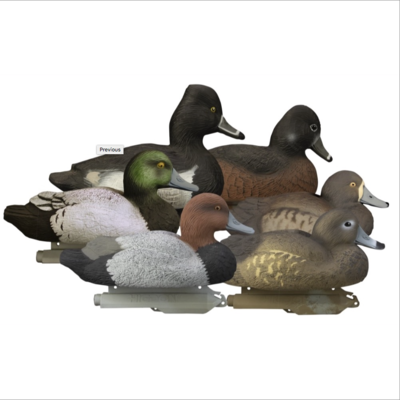 Чучела нырковой утки с пеной Higdon Standart