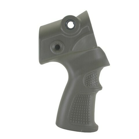 Пистолетная рукоятка на МР-155, -156 и МР-135 для установки телескопического приклада.
