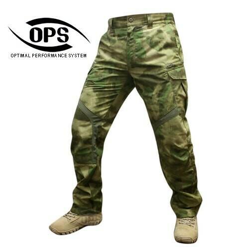 Тактические брюки UR-Tactical OPS Stealth Warrior Pants, A-TACS FG