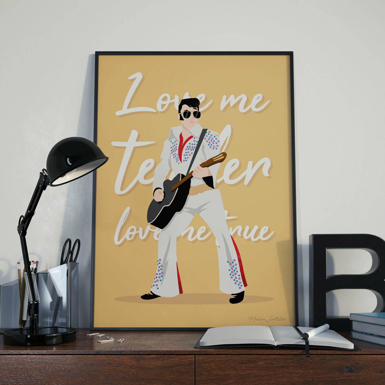 Lámina Elvis