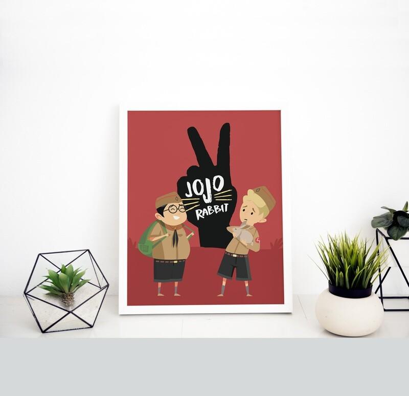 Lámina Jojo Rabbit