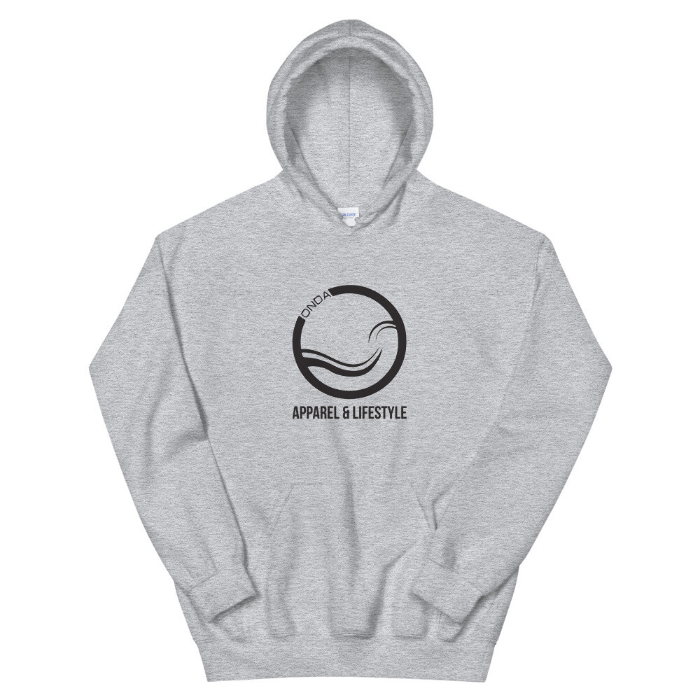 "Onda ""Apparel and Lifestyle"" Logo Men's Hoodie"