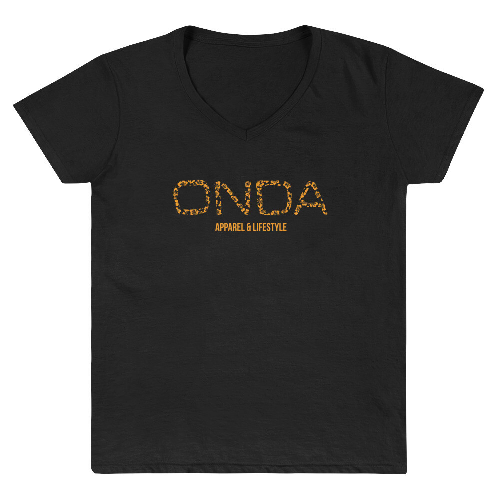 "Onda ""Luau"" Women's V-neck T-Shirt"