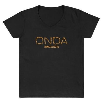 "Onda ""Luau"" Women's V-neck T-Shirt"