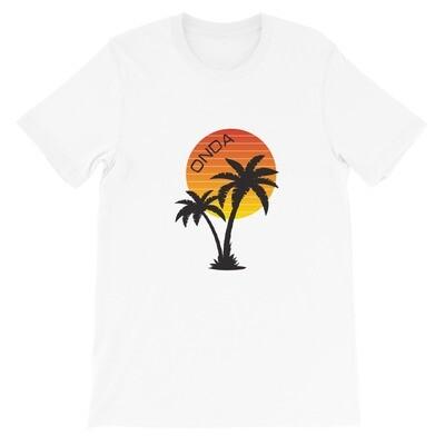 """Onda """"Sunset Palm"""" Men's T-Shirt"""