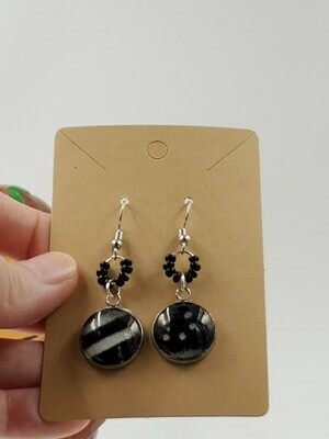 ethereal dangle earrings