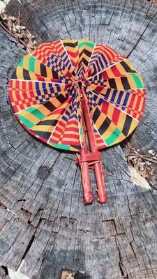 African fan