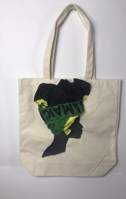 3-DJamaican Tote bag 02   (13.5 X 13x5)