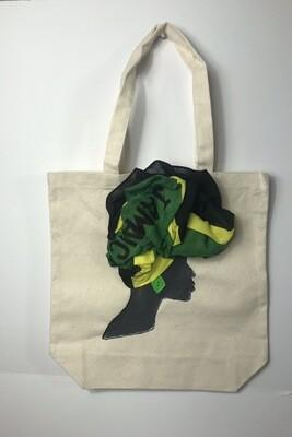 3-DJamaican Tote bag 03   (13.5 X 13x5)