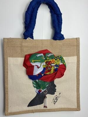 3-D jute bags 001  (13x13x5)