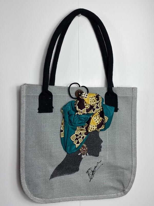 3-D jute bags 006 (13x13x5)