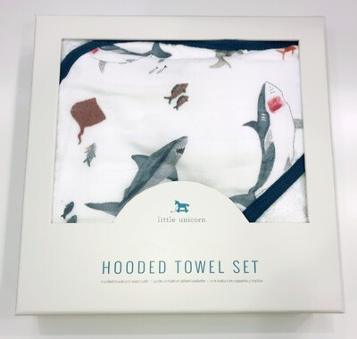 Cotton Hooded Towel & Wash Cloth